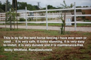 Safety4Horses Paddock Fencing
