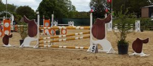 Safety4Horses jump flags and jump numbers