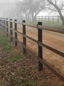 Enjoy effortless style with Safety4Horses Rail Style Fence