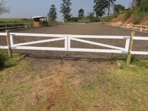Dressage Arena with Safety4Horses Fencing